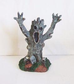 Lemax Halloween Spooky Town Spooky Trees Monster MIP/LN Skeletons RIP (OR1)