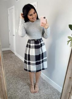 Cute Church Outfits, Cute Modest Outfits, Curvy Outfits, Teen Fashion Outfits, Modest Dresses, Classy Outfits, Modest Fashion, Fall Outfits, Casual Outfits