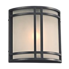 "View the PLC Lighting 8045 1 Light 10"" Wide Outdoor Wall Sconce from the Summa Collection at LightingDirect.com."