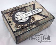 Heartfelt Creations   Best Wishes Gift Box