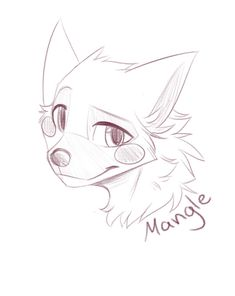Mangle by CristalWolf567.deviantart.com on @DeviantArt
