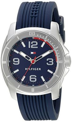 Tommy Hilfiger Womens 1791211 Tommy Sport Analog Display Quartz Blue Watch *** Check this awesome product by going to the link at the image. (Note:Amazon affiliate link)