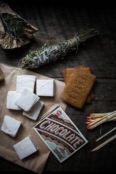 homemade s'mores fixins with Olive & Sinclair Chocolate by Beth Kirby | {local milk}, via Flickr