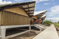 Embera Atrato Medio School - Vigía del Fuerte, Antioquia, Colombia / Plan B Arquitectos