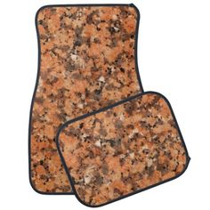 Geology Spotted Surface Stone Texture Car Floor Mats