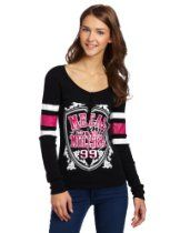 Metal Mulisha Juniors Kendra Football Henley Shirt