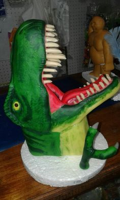 T-Rex porcelana fría
