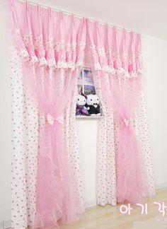 47 Curtain Box, Curtain Holder, Curtain Ideas, Modern Stair Railing, Modern Stairs, Lace Bedroom, Bedroom Decor, Home Curtains, Window Curtains