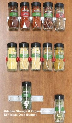 10 Modest Kitchen area Organization And DIY Storage Ideas #kitchenhacks