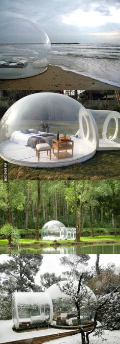 Transparent Bubble Tent Lets You Sleep Underneath The Stars