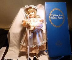 BEAUTIFUL MARY HAD A LITTLE LAMB DOLL KNOWLES CHILDREN FROM MOTHER GOOSE IN BOX! in Dolls & Bears, Dolls, By Brand, Company, Character, Other Brand & Character Dolls   eBay