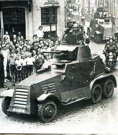 Dutch M36 Landsverk Armored car