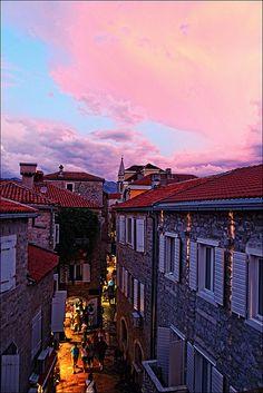 Stari grad (Old town), Budva, Montenegro