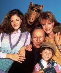 ALF und seine Family: Andrea Elson, Max Wright, Anne Schedeen, Benji Gregory