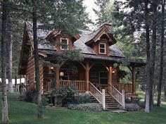Standout-Cabin-Designs.com  (design of Jack Hanna's cabin in Montana)