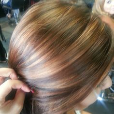 Copper sunkiss highlights  ❤