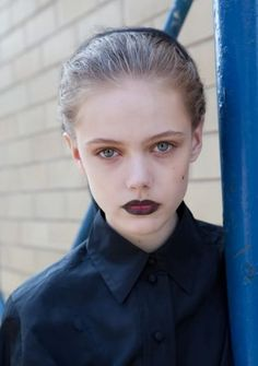 Two-toned vampire #lips