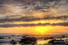 Treasure Cove Sunset by Eddie Yerkish