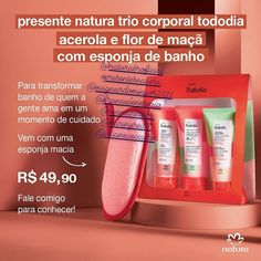 Acerola, Link, Apple Blossoms, Bath Sponges, Childrens Gifts, Girly Gifts, Product Development, Bath And Body, Brazil
