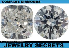 ► ► COMPARE 2 Diamonds, Same Quality, Same Size, But HALF THE PRICE! ► ►