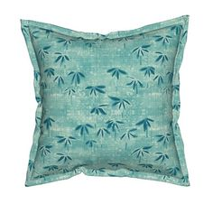 Chinoiserie Bird Spring Bees Dragonfly Garden Lumbar Pillow Cover by Roostery