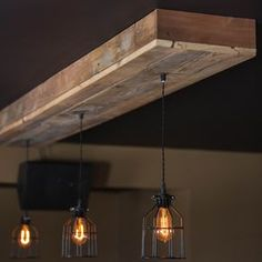 Custom Lighting Chandeliers, Pendants. Rustic, Industrial, Farmhouse, Modern by Paul Miller