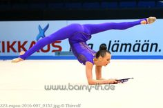 Ganna Rizatdinova (Ukraine) won silver in clubs finals at World Cup (Espoo) 2016