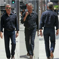 Pierce Brosnan out and about in LA