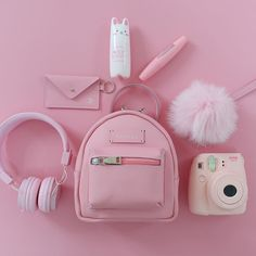 Various Features of Cute School Bags – Bags & Purses Pink Love, Cute Pink, Pretty In Pink, Organizer Box, Pink Color, Purple, Accessoires Iphone, Aesthetic Colors, Aesthetic Pastel Pink