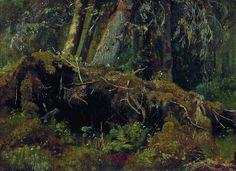 Wind Fallen Trees, 1880