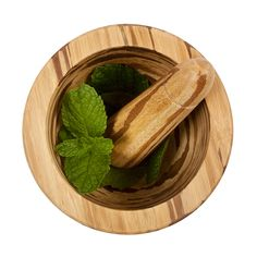 A ferocious blend of art and function, this striking mortar and pestle set is crafted from crushed bamboo. This traditional tool imparts tiger's eye precision to crushing, powdering and emulsifying herbs, spices and prey with ease. A gorgeous way to add flavor to your meal--and kitchen counter. Made of crushed bamboo in China.