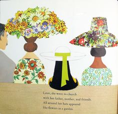 Collage: Jenny's Hat. Ezra Jack Keats