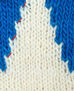 Intarsia #knitting tutorial.