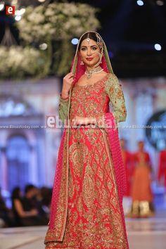 Sabeeka Imam for Nomi Ansari 'Ishq' Pantene Bridal Couture Week 2014