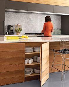 アイランドキッチンの収納・レイアウト術。憧れレイアウトのススメ | iemo[イエモ] もっと見る