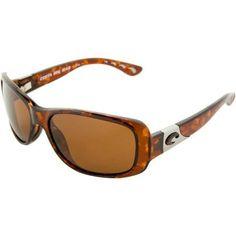 Costa Del Mar Tippet Polarized Sunglasses - Costa 580 Glass Lens - Women's Tortoise/Copper, One Size Costa Del Mar. $228.95