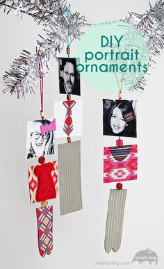 DIY Family Portrait Paper Ornaments – Christmas Crafts for Kids – Artterro Craft Kits | Small for Big