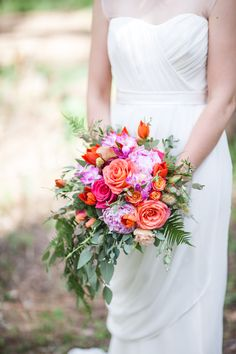 Liz & Matthew | Rose and Blossom Wedding and Floral Events Designers #wedding #roseandblossom #bridalbouquet #peonies #coral