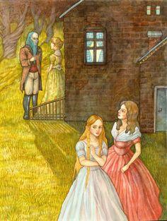 Blue Beard - Fairy Tale Illustration by sae jung choi, via Behance