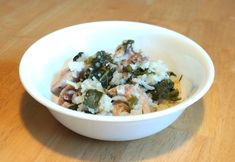 Rice Cooker Coconut Chicken and Kale