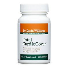 Dr. David Williams' Total CardioCover Cardiovascular Health Supplement, 60 Capsules (30-Day Supply) -- Learn more by visiting the image link.