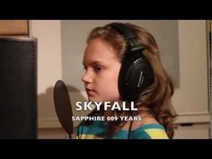"""This is me, Sapphire, singing """"Skyfall"""" by """"Adele"""" from the latest James Bond 007 Movie """"Skyfall"""".  I hope you like my fun version of this Adele song.    Sapphire :)    Please check out my Youtube Channel:  www.youtube.com/user/444jet  www.facebook.com/sapphireuk    Adele - Brit Awards 2013  Adele - Academy Awards Oscars performance 2013"""