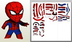 Paperwar !: Spiderman, 20cm, Version LP !
