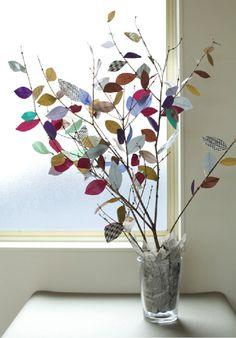 Masking tape tree