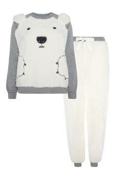 Primark - Polar Bear Fleece Pyjama Set