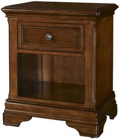 Bedford Nightstand - Night Table - Bedroom Side Tables - Bedroom Nightstands - Traditional Bedroom Furniture | HomeDecorators.com