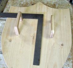 Free Wooden Medieval Shield Plan - How to Make A Toy Wood Shield