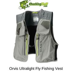 Best Vest for Fly Fishing 2019 - Buyers Guide and Comparison Fly Fishing Net, Fishing Vest, Trout Fishing, Fishing Tips, Fishing Lures, Carp Fishing, Ice Fishing, Fishing Tackle, Fly Fishing For Beginners