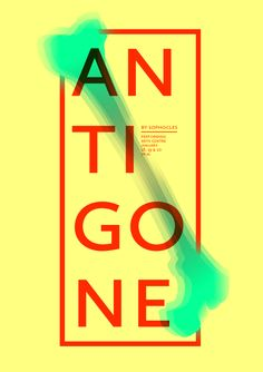 Theatre Posters by Hubert Tereszkiewicz, via Behance