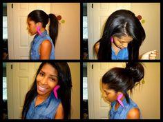 52 hair clip styles 75
